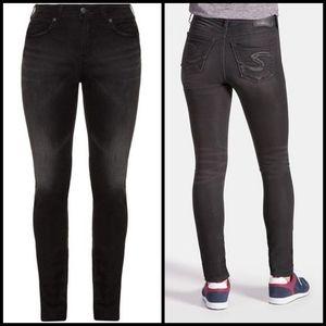 Silver Suki Joga jeans size W16 L33